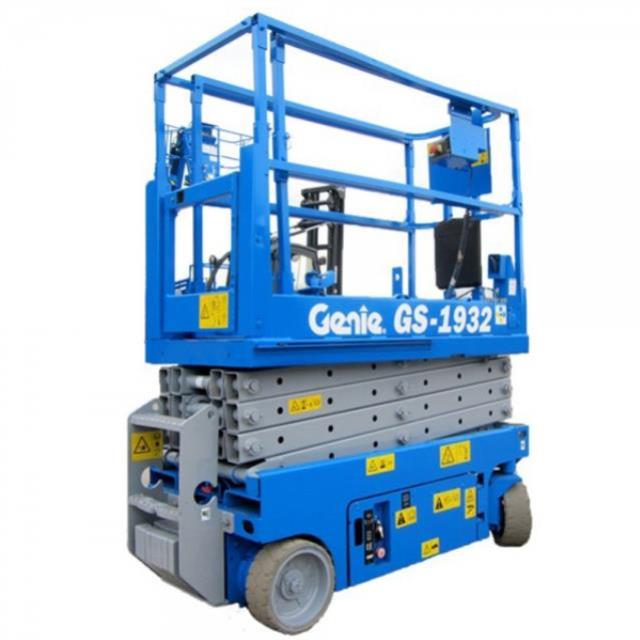 Where to find 19  ELECTRIC SLAB SCISSOR LIFT in Bigfork
