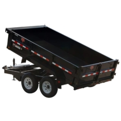Rental store for 7X12 8000 LB GVW DUMP TRAILER in Bigfork MT