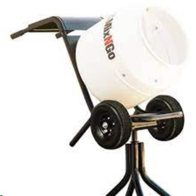 Where to find 4 CF ELEC CONCRETE MINI MIXER  PORTABLE in Bigfork